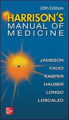 Harrisons Manual of Medicine 20e Cover