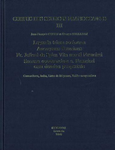 Legenda Trium Sociorum Anonymus Perusinus vol.III