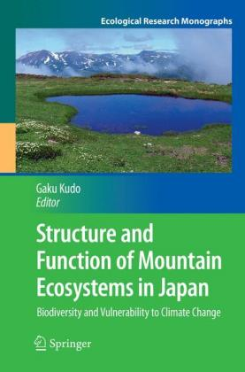 Structure and Function of Mountain Ecosystems in Japan