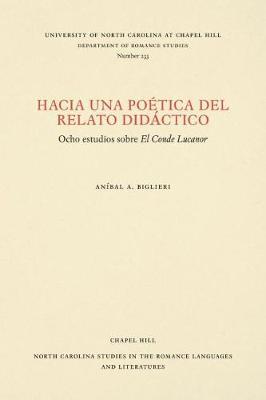 Hacia una Poetica del Relato Didactico:.. Cover