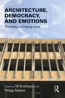 Architecture, Democracy and Emotions:.. Cover