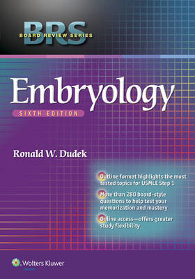 BRS Embryology 6e