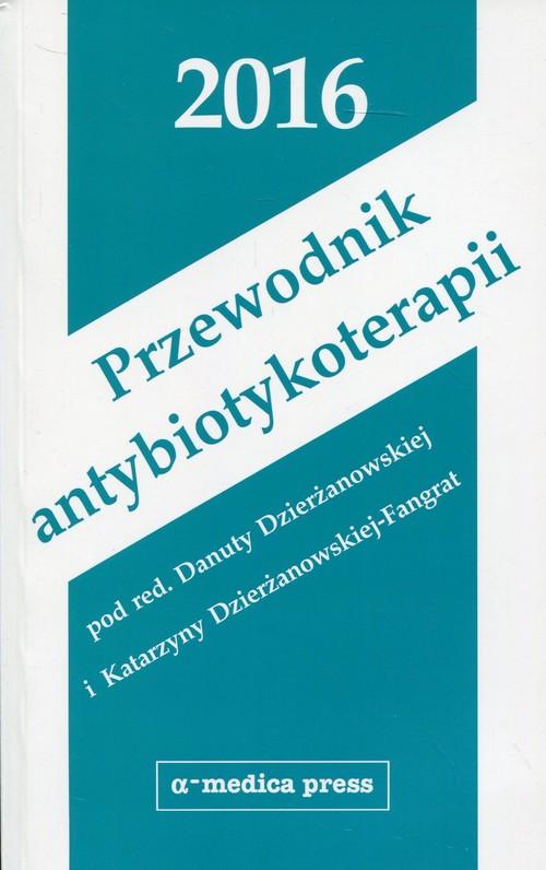 Przewodnik antybiotykoterapii 2016 Cover