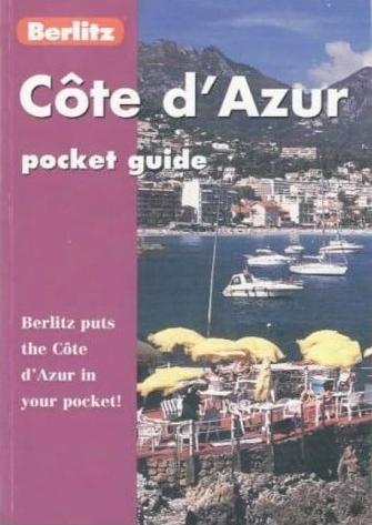 Cote d'Azur Berlitz Pocket Guide