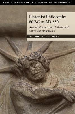 Platonist Philosophy 80 BC to AD 250: An.. Cover