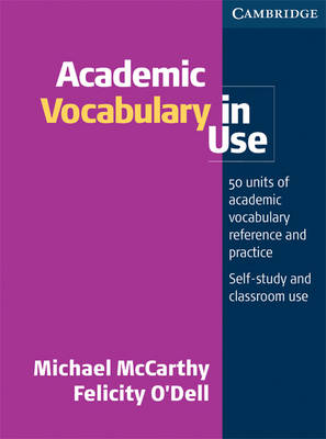 Academic Vocabulary in Use Edition with.. Cover