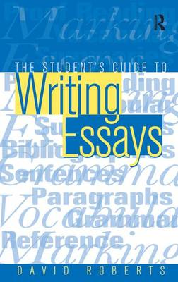 student guide to writing essays