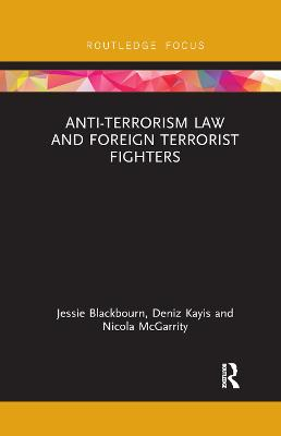 Anti-Terrorism Law and Foreign Terrorist.. Cover