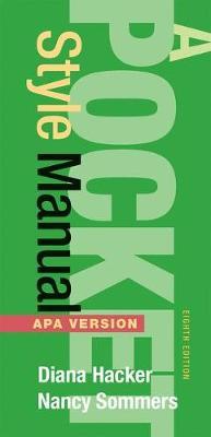 A Pocket Style Manual APA Version
