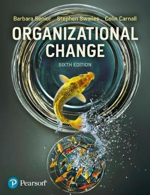 Organizational Change, 6th Edition Cover