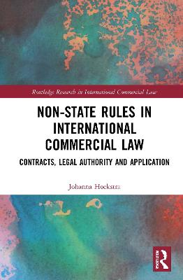 Non-State Rules in International.. Cover