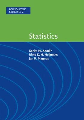 Econometric Exercises: Statistics Series.. Cover