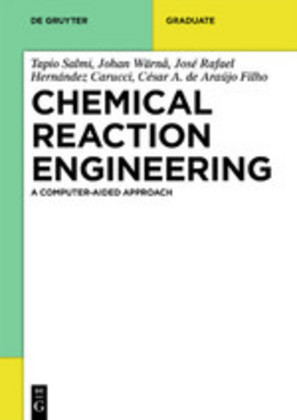 Chemical Reaction Engineering Cover