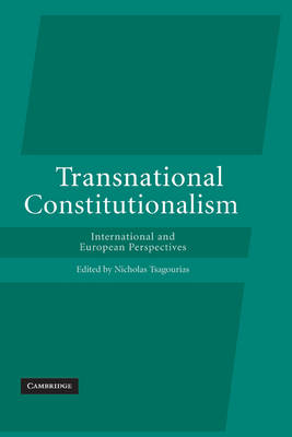 Transnational Constitutionalism.. Cover