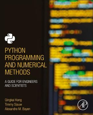 Python Programming and Numerical.. Cover