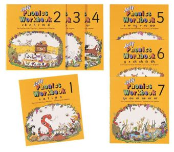 Jolly Phonics Workbooks Books 1-7