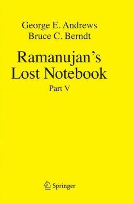 Ramanujan's Lost Notebook: Part V