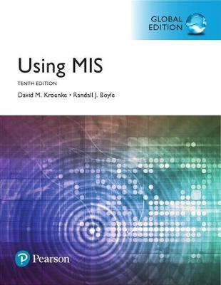 Using MIS, Global Edition Cover