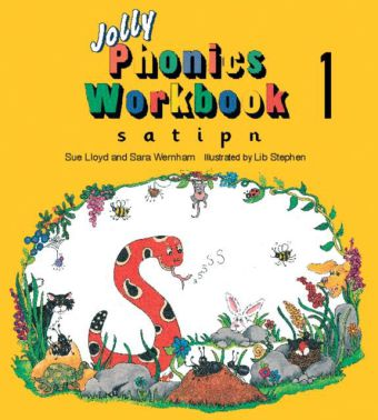 Jolly Phonics Workbook 1: s, a, t, i, p, n