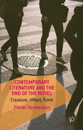 Contemporary Literature and the End of.. Cover