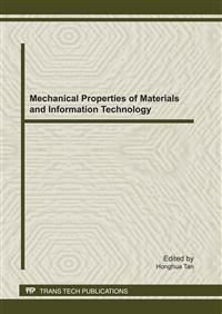 Mechanical Properties of Materials and.. Cover