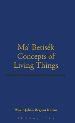 Ma' Betisek Concepts of Living Things: Volume 54