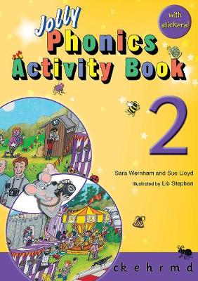 Jolly Phonics Activity Book 2 Cover