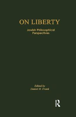 On Liberty: Jewish Philosophical.. Cover