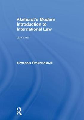 Akehurst's Modern Introduction to.. Cover