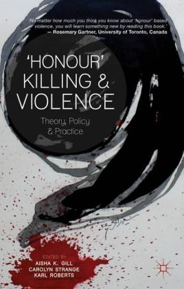 'Honour' Killing and Violence: Theory,.. Cover