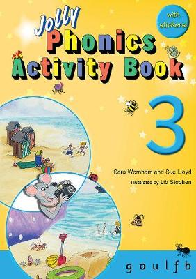 Jolly Phonics Activity Book 3: in.. Cover