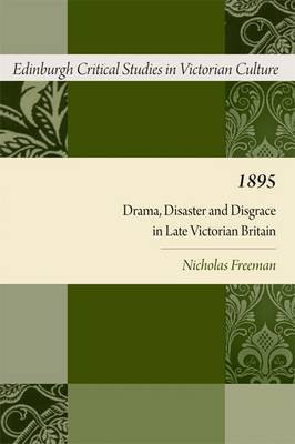 1895: Drama, Disaster and Disgrace in.. Cover