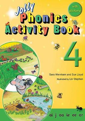 Jolly Phonics Activity Book 4 Cover