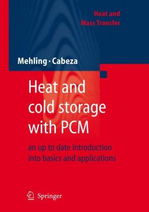 Heat and Cold Storage with PCM Cover