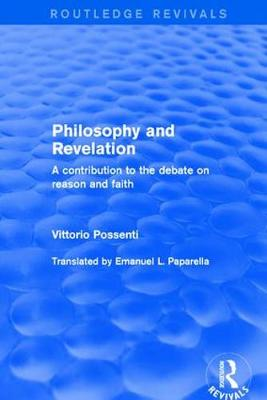 Philosophy and Revelation: A.. Cover