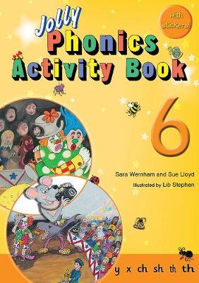 Jolly Phonics Activity Book 6 Cover