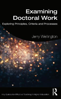 Examining Doctoral Work: Exploring.. Cover