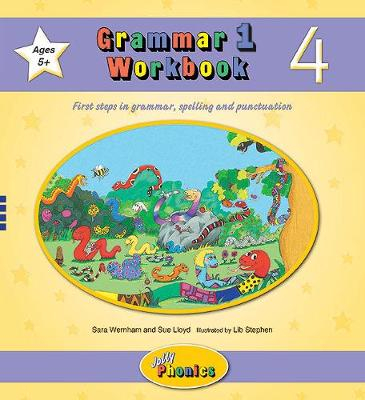 Grammar 1 Workbook 4: In Precursive Letters (British English edition)