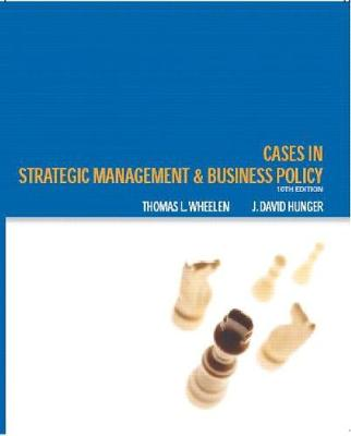 case studies in business policy and strategic management Part one introduction to strategic management and business policy the editorial boards of the journal of management and journal of management case studies.
