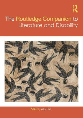The Routledge Companion to Literature.. Cover