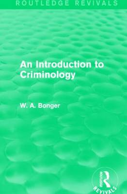 an introduction to criminology La39220 module title introduction to criminology academic year 2018/2019  co-ordinator to be arranged semester semester 2 (taught over 2 semesters.