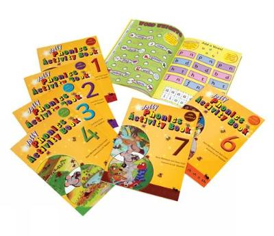 Jolly Phonics Activity Books 1-7: in Precursive Letters (British English edition)