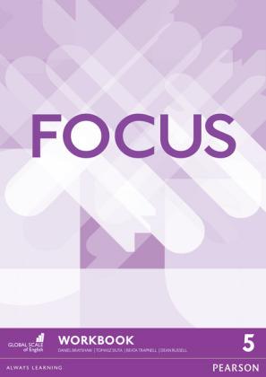 Focus BrE 5 Workbook Cover