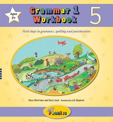 Grammar 1 Workbook 5: In Precursive Letters (British English edition)