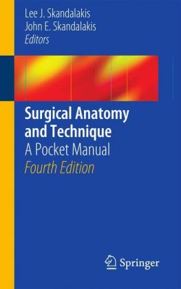 Surgical Anatomy and Technique: A Pocket Manual
