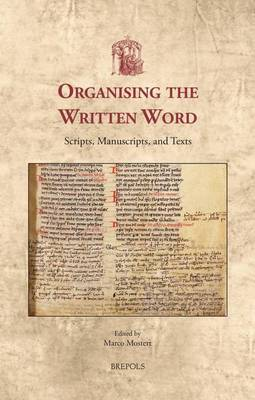Organizing the Written Word Cover