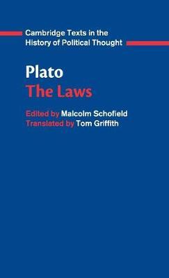 Plato: Laws Cover