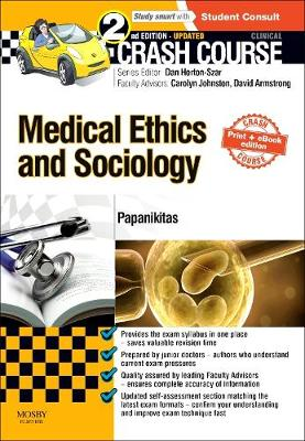 Crash Course Medical Ethics and Sociology Cover