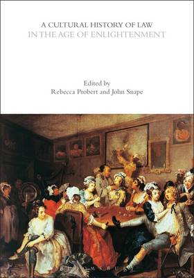 A Cultural History of Law in the Age of.. Cover