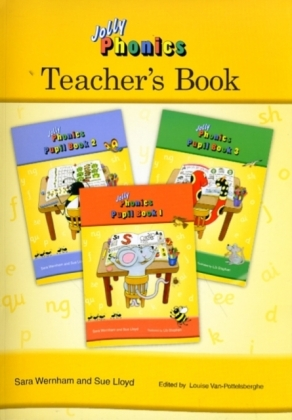 Jolly Phonics Teacher's Book (colour.. Cover